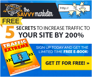 5 Secrets To Increase Traffic To Your Site By 200%. Get Your Free Report Now!