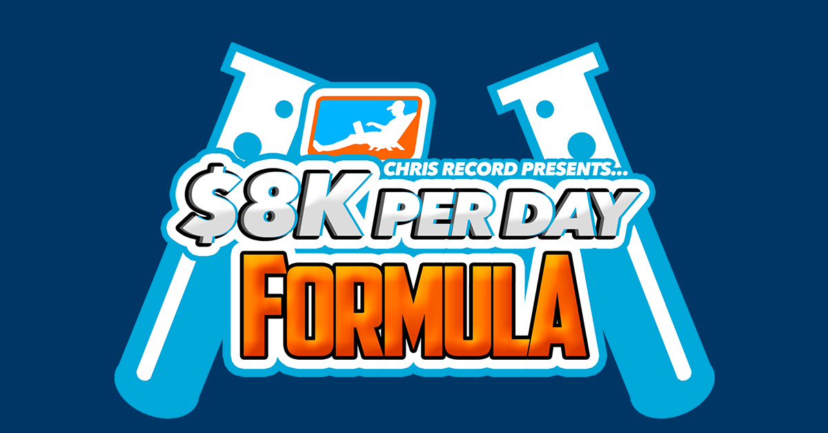 $8K PER DAY FORMULA Review
