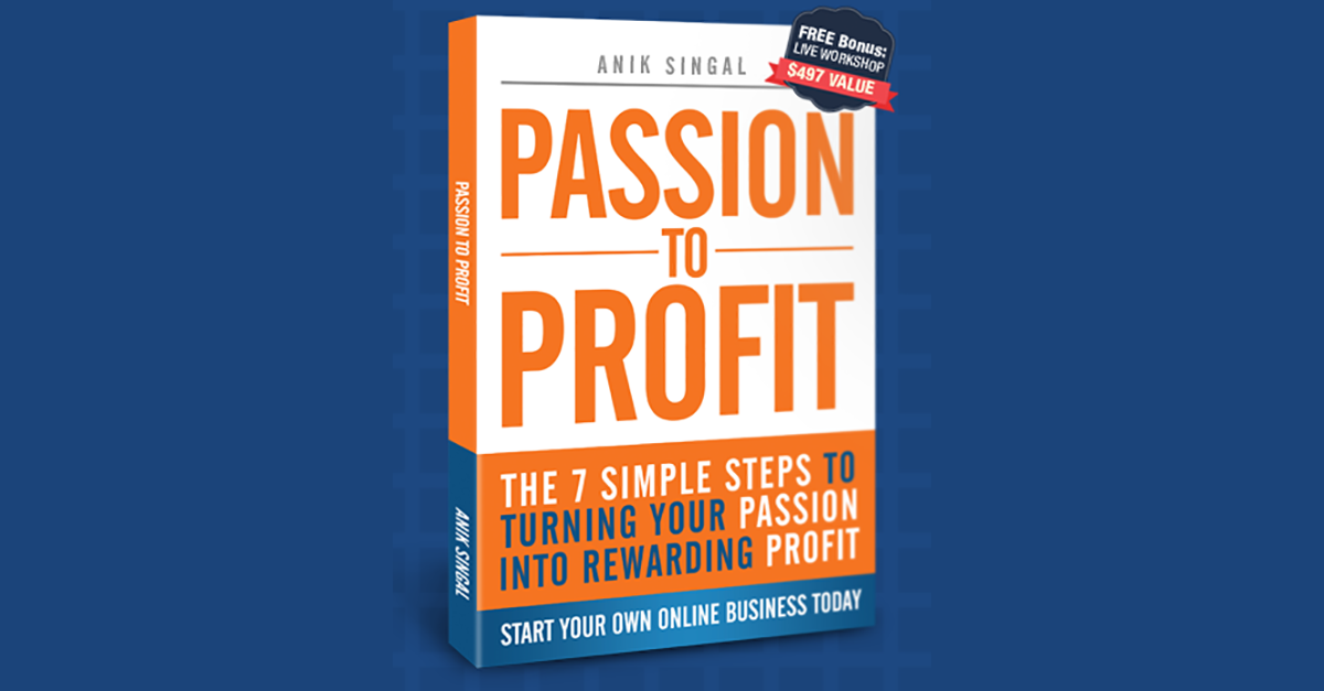 Passion To Profit: Download Book By Anik Singal Free