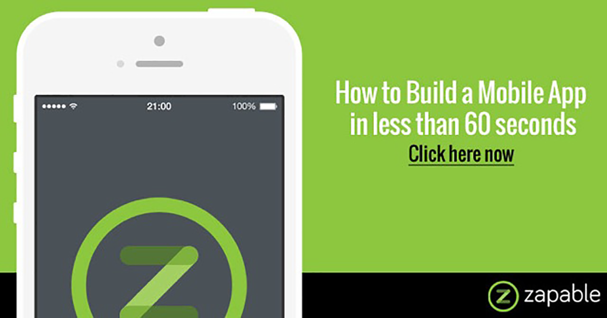 How To Build A Mobile App In Less Than 60 Secs – Zapable Evolution Review & Bonus