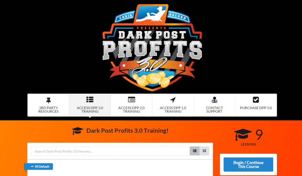 dark post profits 3.0